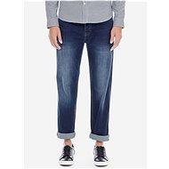 Burton Menswear London Tmavě modré straight fit džíny - Džíny