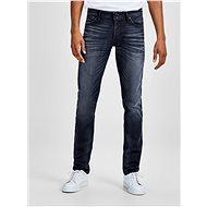 Jack & Jones Blue slim fit jeans with embroidered Glenn effect - Jeans