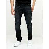 Jack & Jones Tmavě modré džíny s vyšisovaným efektem Tim - Džíny