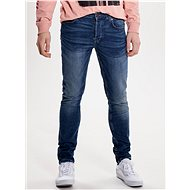 ONLY & SONS Blue Faded Slim Fit Jeans Loom - Jeans