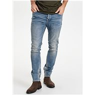 ONLY & SONS Dark blue slim jeans with a distinctive embossed Loom effect - Jeans