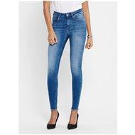 ONLY Modré zkrácené skinny fit džíny Blush - Džíny