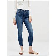 ONLY Modré zkrácené skinny fit džíny Gosh - Džíny