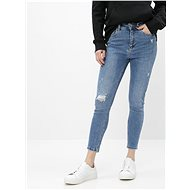 ONLY Blue short skinny fit jeans Mila - Jeans