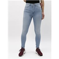 ONLY Světle modré skinny džíny s vysokým pasem Royal - Džíny