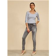 ZOOT Gray women' s slim fit jeans China - Jeans