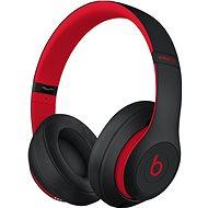 Beats Studio3 Wireless - vyvzdorovaná černo-červená - Sluchátka s mikrofonem