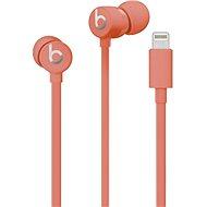 Beats urBeats3 s konektorem Lightning - korálově červená - Sluchátka