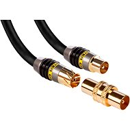 MONSTER Koaxiální kabel Quad 3m - Anténní kabel