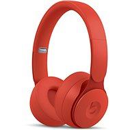 Beats Solo Pro Wireless - More Matte Collection - červená - Bezdrátová sluchátka