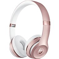 Bezdrátová sluchátka Beats Solo3 Wireless Headphones - růžově zlatá