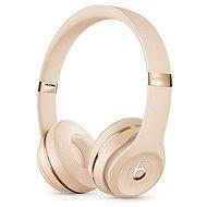 Beats Solo3 Wireless Headphones - saténově zlatá - Bezdrátová sluchátka