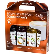 MONIN COFFEE BOX 4 x 0,25 l sirup - Příchuť