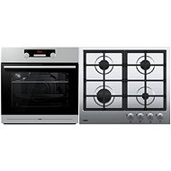 MORA VT 536 BX + MORA VDP 645 X2 stainless steel - Oven & cooktop set