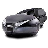 SHAD Vrchní kufr na motorku SH48 Tmavě šedý vč. opěrky a karbonového víka