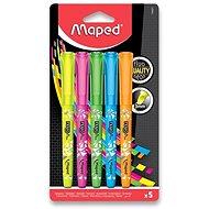Maped Fluo Peps Pen - sada 5 barev