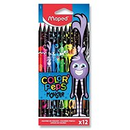 Maped Color´Peps Monster, Wood-free, 12 Colours