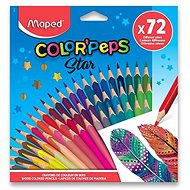 Maped Color' Peps Triangular, 72 Colours