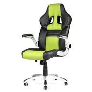 MERCURY STAR Williams černo/zelená - Kancelářská židle
