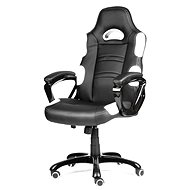 MERCURY STAR Silverstone černo/bílá - Kancelářská židle