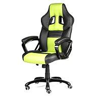 MERCURY STAR Monaco černo/zelená - Kancelářská židle