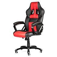MERCURY STAR Monaco černo/červená - Kancelářská židle