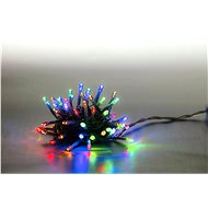 Marimex Light chain 100 LED 5 m - colour - transparent cable - 8 functions - Christmas Chain Lights