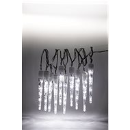 Marimex Icicles 10 Piece LED Light Chain - 8 Functions - Christmas Lights