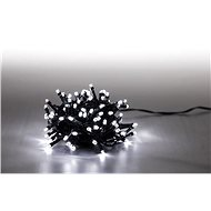 Light Chain 100 LED 5m - Cold White - Green Cable - Christmas Chain Lights