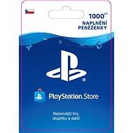 PlayStation Store - Kredit 1000 Kč - CZ - Dobíjecí karta