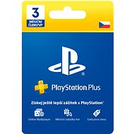 PlayStation Plus 3 Months Membership - CZ - Prepaid Card