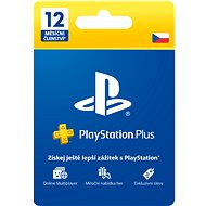PlayStation Plus 12 Month Membership - CZ - Prepaid Card