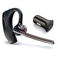 Plantronics Voyager 5220 Black + Car Charger - Bluetooth Headset