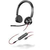 Poly Blackwire 3325 Microsoft, USB-C + 3,5mm - Sluchátka
