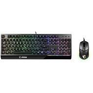 MSI Vigor GK30 COMBO - CZ/SK - Set klávesnice a myši