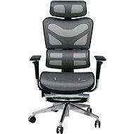 MOSH BS-702L černo/bílá - Kancelářská židle
