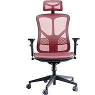 MOSH BS-526 červená - Kancelářská židle