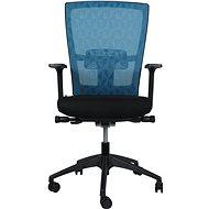 MOSH BS-201 tyrkysová - Kancelářská židle