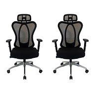 MOSH BS-311 černá - pack 2ks - Kancelářská židle