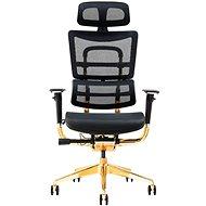 MOSH BS-802 GOLD Limited Edition - Kancelářská židle