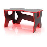 MOSH s červeným LED podsvícením - Herní stůl