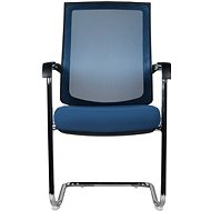MOSH 8099 modrá 2ks - Konferenční židle