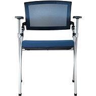MOSH 1605 modrá 2ks - Konferenční židle