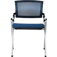 MOSH 1606 modrá 2ks - Konferenční židle