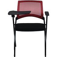 MOSH 1509 červeno/černá 2ks - Konferenční židle