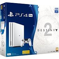 PlayStation 4 Pro 1TB - Glacier White + Destiny 2 - Herní konzole