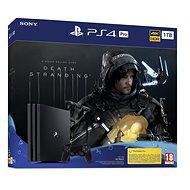 PlayStation 4 Pro 1TB + Death Stranding - Herní konzole