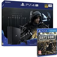 PlayStation 4 Pro 1TB + Death Stranding + Days Gone - Herní konzole