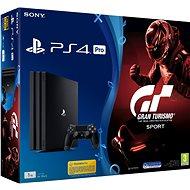 PlayStation 4 Pro 1TB + Gran Turismo Sport - Herní konzole