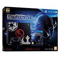 PlayStation 4 Pro 1TB Star Wars Battlefront II Limited Edition - Herní konzole